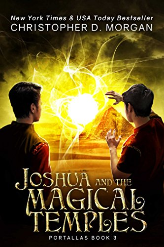 Joshua and the Magical Temples Book Cover