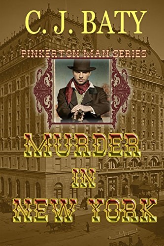 New Release Giveaway: Murder in New York by C.J. Baty