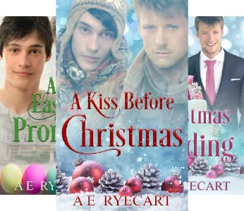 A Kiss Before Christmas, An Easter Promise, A Christmas Wedding Book Cover